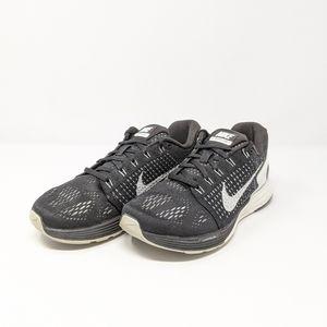 Nike Lunarglide 7 Black/White Size 7